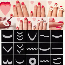 15Pcs/Set Transfer Stickers 3D Design Nail Art Manicure Tips Decal Decoration