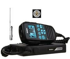 UNIDEN UH8080S NB 80 CHANNEL UHF+SCANNER+AT870 6.5DB BLK ANTENNA RADIO CAR 4WD