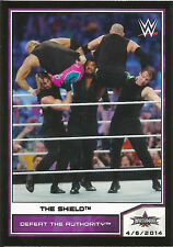 2014 Topps WWE Road To Wrestlemania #103 The Shield NM/MT DB#931