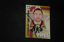 HOF ED BELFOUR 2007 IN THE GAME SIGNED AUTOGRAPHED CARD #65 PANTHERS