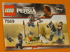 Lego Set 7569 INSTRUCTIONS ONLY Prince of Persia Desert Attack Manual Booklet