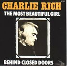 """CHARLIE RICH The Most Beautiful Girl PICTURE SLEEVE 7"""" 45 rpm record NEW RARE"""