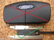 FORD Flip Remoto Lama solo C-S-MAX FIESTA FOCUS GALAXY MONDEO taglio a Codice foto