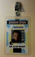 Jurassic Park ID Badge-Ingen Alan Grant Style A costume prop cosplay