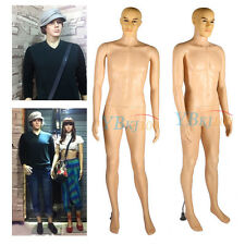 Male Full Body Mannequin Clothes Display Dressmaking Window Showcase Fashion