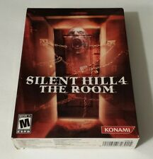 BRAND NEW SEALED AMERICAN PC BOX -- Silent Hill 4: The Room (PC, 2004)