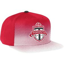 adidas MLS Toronto FC 2014 Flat Brim Adjustable Soccer  Hat Cap Soccer Red