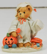 GHOST BEAR Figurine Cherished Teddies Stacie You Lift My Spirit in Box HALLOWEEN