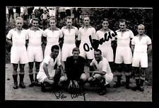 Ottmar Walter Willi Hölzl 1 FC Kaiserslautern 1953 Foto Original Sign+G 15733