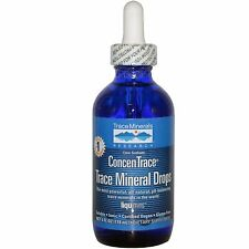 Trace Minerals Research, ConcenTrace Trace Mineral Drops, 4 fl oz 118 ml Droper