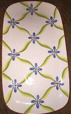 Southern Living At Home Gail Pittman Blue Flower Platter Retired Platter Serving
