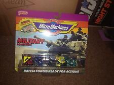 VINTAGE 1990 GALOOB MICRO MACHINES  MILITARY COLLECTION AMBUSH SQUAD #4 <<NIP
