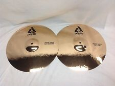 "Paiste 14"" ALPHA ROCK HATS Hi Hat Cymbals/New With Warranty/Free Stick Bag!"