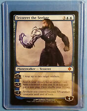 Magic the Gathering - Shards of Alara - Tezzeret the Seeker - NM - RARE - MTG