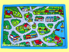 3x5  Area  Rug Play  Road Driving Time  Street Car  Kids City Fun Time  New Gray