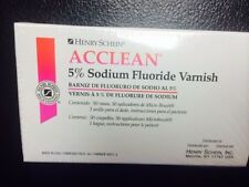 Varnish , 5% Sodium Fluoride Varnish, Mint  Flavor 50/Box , Dental