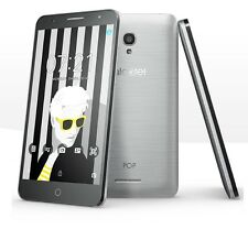 Alcatel Pop 4 Dual Sim ✔ Smartphone ohne Vertrag ✔ 5 Zoll ✔ Android 6.0 ✔ silber