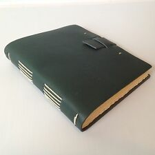 New RUSTICO Traveler Leather Journals Diary Notebook Christmas GiftsGreen Buckle