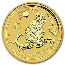 1/20 oz Year of the Monkey Year of the Monkey 999 Gold Coins 5$ Perth Mint