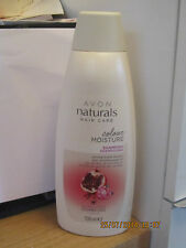 AVON NATURALS COLOUR MOISTURE SHAMPOO in POMEGRANATE EXTRACT 700ML Large Size