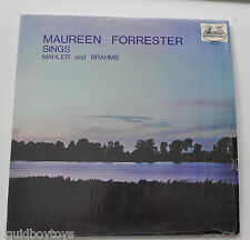 - MAUREEN FORRESTER SINGS Mahler and Brahms LP Record Melidor -