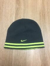NIKE Men's Reversible Beanie Green - Gray One Size Fits All