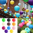 """10PCS 8"""" 10"""" 12"""" Colorful Chinese Paper Lantern Wedding Lampshade Party Decor"""