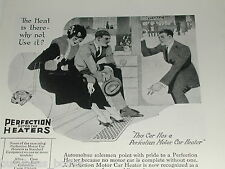 1920 Perfection Heater Co. advertisement, Motor Car Heaters, vintage auto