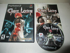 Working Chaos Legion for Sony PlayStation 2 Rated Teen Complete PS2