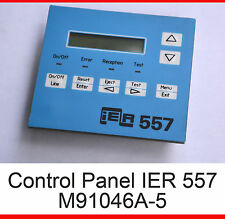 CONTROL PANEL M91046A-5 FROM PRINTER IER 557 IER557 AIRPORT PRINTER LCD DISPLAY