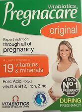 Vitabiotics Pregnacare Original 30 Tablets ~~~ UK No1 Pregnancy Supplement Brand