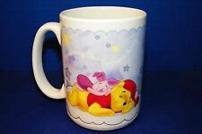 Mug Coffee Cup Disney Winnie The Pooh Tigger & Piglet Bedtime Nap Time Large