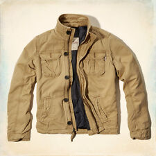 Hollister by Abercrombie Men`s Outwear jacket coat  Quilted line, warm  XL