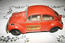 VINTAGE VW BUG VOLKSWAGEN BEETLE DECANTER JIM BEAM WHISKEY BOURBON 1973 LIQUOR