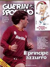 Guerin Sportivo n° 6 1983 - con film campionato - Aston Villa Supercoppa [GS38]