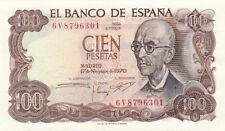 Billet banque ESPAGNE SPAIN ESPANA 100 PTS 1970 neuf new unc 301