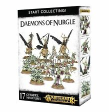 Age of Sigmar Warhammer Daemons of Nurgle Start Collecting NIB
