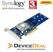 Synology M2D17 PCIe Gen2 x8 for Dual M.2 SSD Adapter Card
