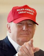 MAKE AMERICA GREAT AGAIN -  RED Full TWILL HAT - Trump