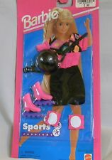 BARBIE DOLL SPORTS FASHIONS ROLLER SKATING OUTFIT NOC