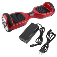 "Red Hover board 6.5"" UL Approved Self Balancing Electric Scooter 2 Wheel"