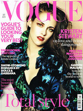 VOGUE UK October 2012 KRISTEN STEWART Jourdan Dunn RICCARDO TISCI Lena Dunham