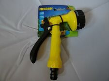 Garden Spray Gun with 5 Adjustable Nozzle for Lawn Grass Watering and Borders