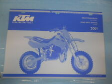 2001 KTM 50 Mini JR SP Adv SX Junior Senior Chassis Spare Parts Manual 320820