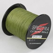 Super Strong Dyneema Spectra Sea Braided Fishing Line 100M 30LB Amy Green ,NEW