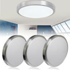 Bright 12W SMD LED Flush Mounted Ceiling Down Light Kitchen Wall Lamp Day White