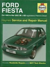 FORD FIESTA 1.25 1.3 1.4 1.6 PETROL & 1.8 DIESEL ( 1995 - 2002 ) REPAIR MANUAL