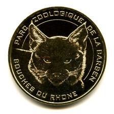 13 LA BARBEN Parc zoologique, Le lynx d'Eurasie, 2015, Monnaie de Paris
