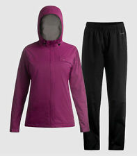 NWT! Women's Paradox 2.5 Beyond Limits Waterproof Rainsuit JACKET+PANTS-BERRY-XL