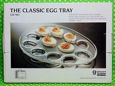 Egg Tray EGG SHAPED SERVEWARE 12 Deviled Eggs Grainware Carlisle Clear Acrylic